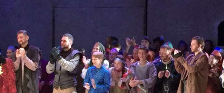 ILS 6th grader performs at Gorky Theater
