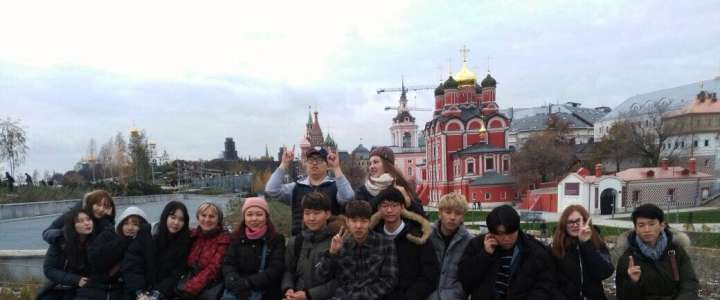 "MSU, Kremlin, Bunker 42 on ILS students' ""must see"" list for Moscow visit"