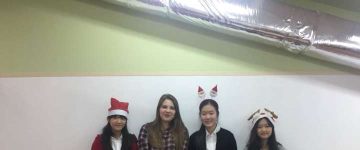 Pirogi and bulgogi, pelmeni and kimbap: ILS international students learn Russian language, cuisine