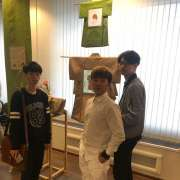 ILS students visit graphic design exhibit