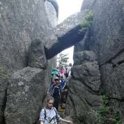 ILS 7th graders visit ancient sites and dwellings
