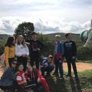 ILS 6th graders visit unique military sites on Russian Island