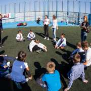Third day of International Week: enjoyable games and positive emotions
