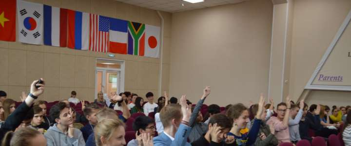 ILS students learn about international business education opportunities