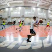 Sports competitions at ILS: basketball, White Rook, slalom