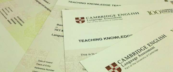 ILS teachers receive letter of gratitude from Cambridge University exams department