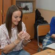 """My little princes"": doll artist Galina Dmitruk holds master class for ILS students"