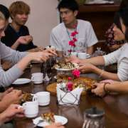 """Greetings, Vladivostok!"" program participants attend traditional Russian tea ceremony"