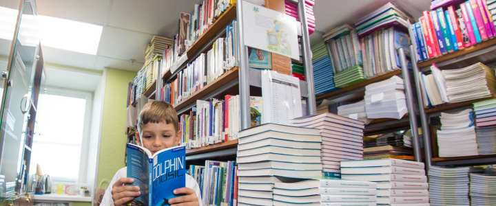 ILS school library adds over 1,500 books every year