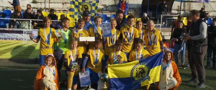 Luch Football Club, which includes an ILS student, wins international tournament
