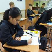 ILS in finals of XIV Primorsky Region Calligraphy Competition