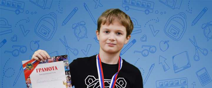 1st competition, 1st place: ILS 6th grader wins gold medal at Vladivostok table tennis championship