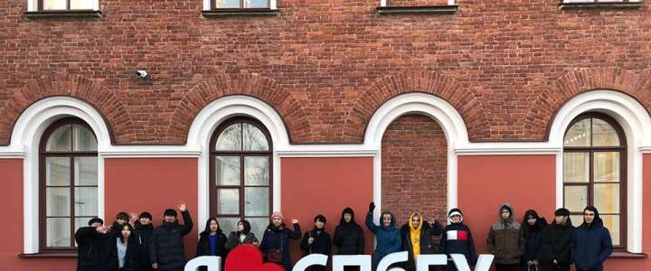 "ILS pupils participate in ""We study in St. Petersburg"" project"