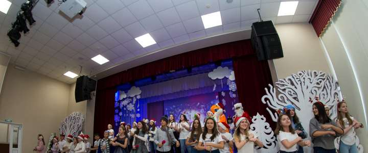 ILS students, teachers and guests visit Snow Queen