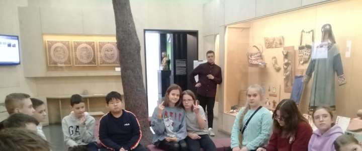 ILS students see how indigenous peoples of Primorye lived