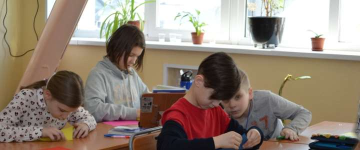 Entertaining mathematics during ILS Science Week: Mobius strip and origami art